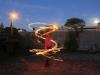 Fire hula hoop - Vortex