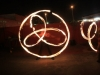 fire poi at Melodika event