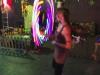 LED Hula hoop in club