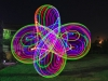 LED Hula hoop pattern