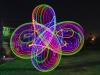 LED Hula hoop pattern