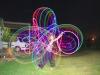 LED hula hooping