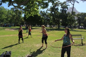 Hula hoop classes in Cape Town