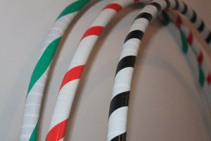 Candy Cane hoop R120
