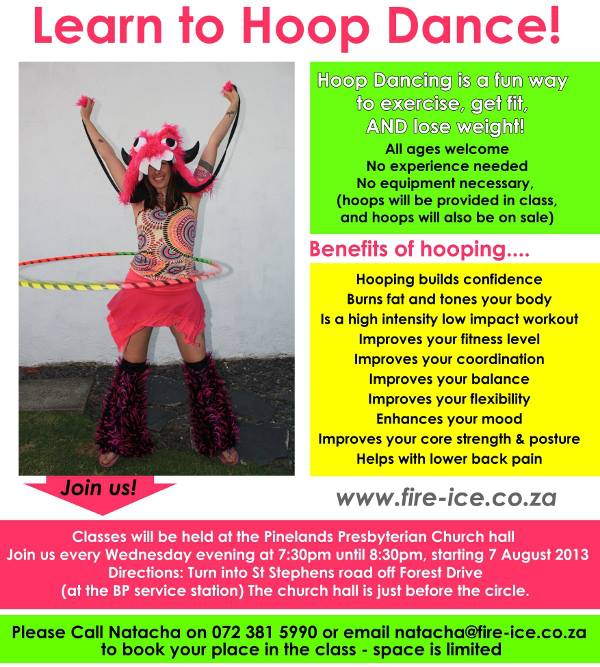 Hula Hoop dance classes