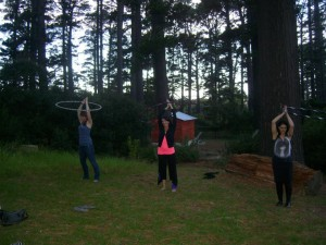Hula hoop classes